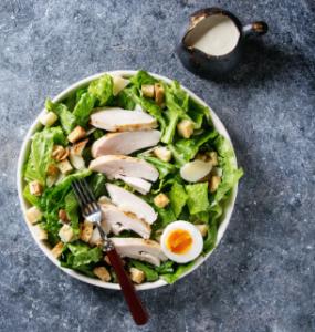 Ceasar salad with chicken