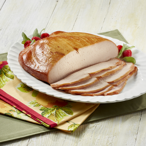 Deli style roasted turkey breast