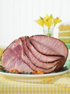 Roasted Sliced Pit Ham